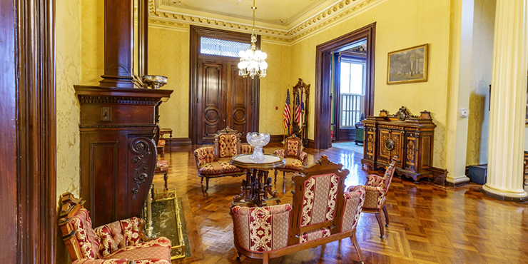 Great Hall at the Governor's Mansion